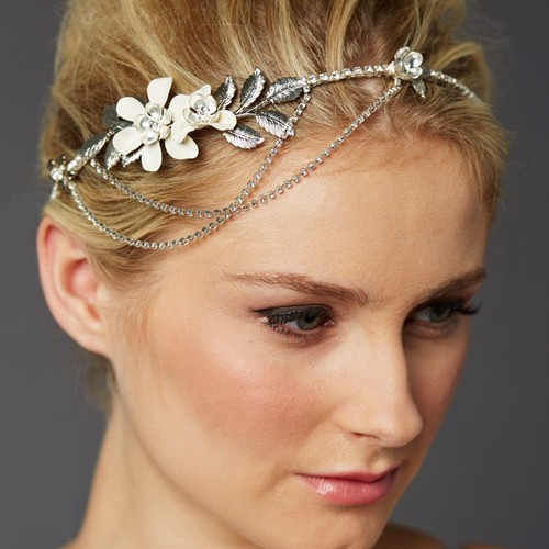 Secret Garden Floral Bridal Headpiece
