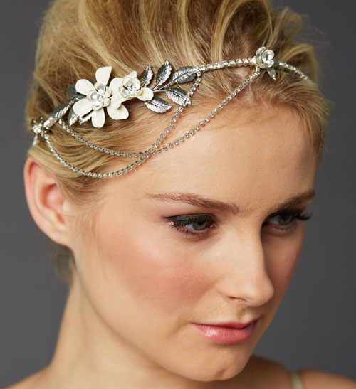 Secret Garden Floral Bridal Headpiece
