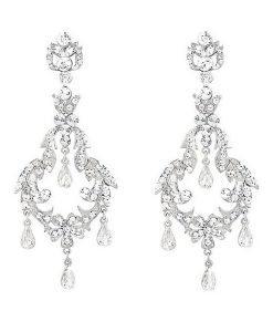 Crystal Chandelier Earrings for wedding