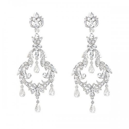 Crystal Chandelier Earrings for wedding