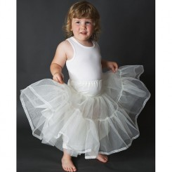 Jupon 102 children's wedding petticoat