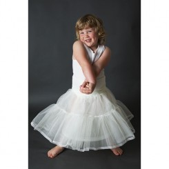 Jupon 104 flower girl petticoat