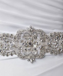 crystal wedding belt 1810 by poirier