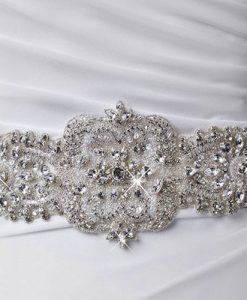crystal wedding belt 1810 by poirier