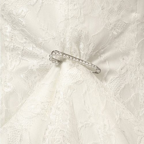 Pearl Bridal Train Pin BB-920