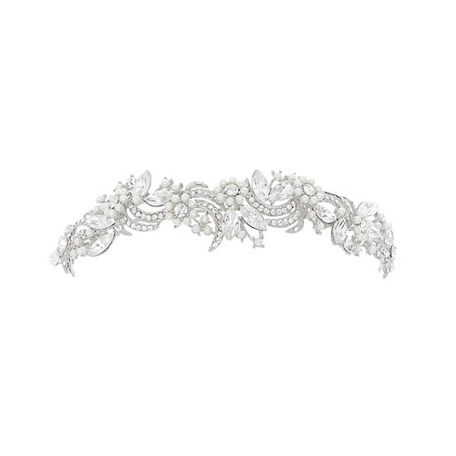 Opulence Crystal Wedding Headband