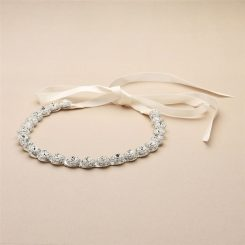 4455HB-silver-wedding-hair-ribbon