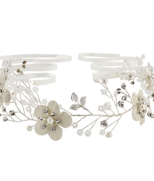 alana-floral bridal hair vine