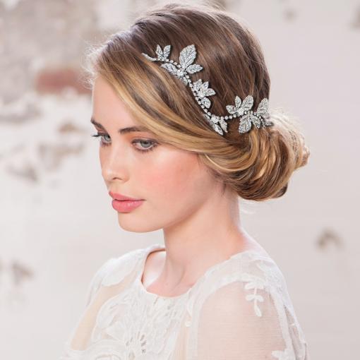 Crystal wedding hair clip hp130 nicole