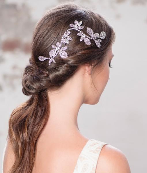 crystal wedding hair clip