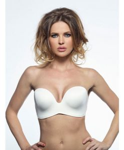Wonderbra Ultimate Strapless Padded Plunge Bra