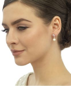 cubic-zirconia-&-peral-earring-er300