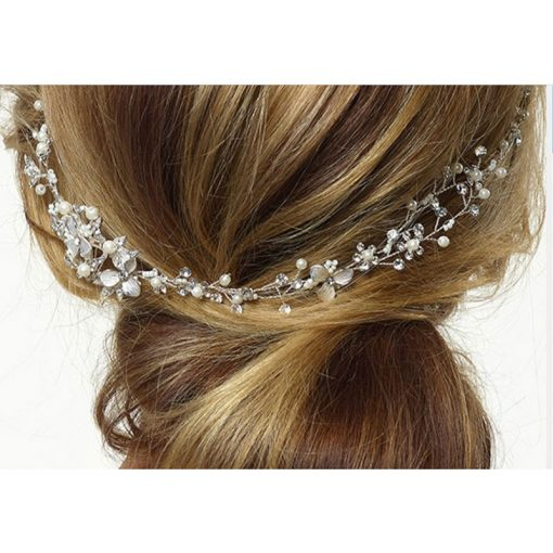 Poirier Floral Bridal Hair Vine BB-631