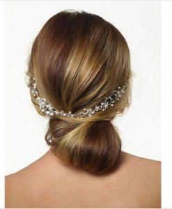 Poirier Floral Bridal Hair Vine BB-631